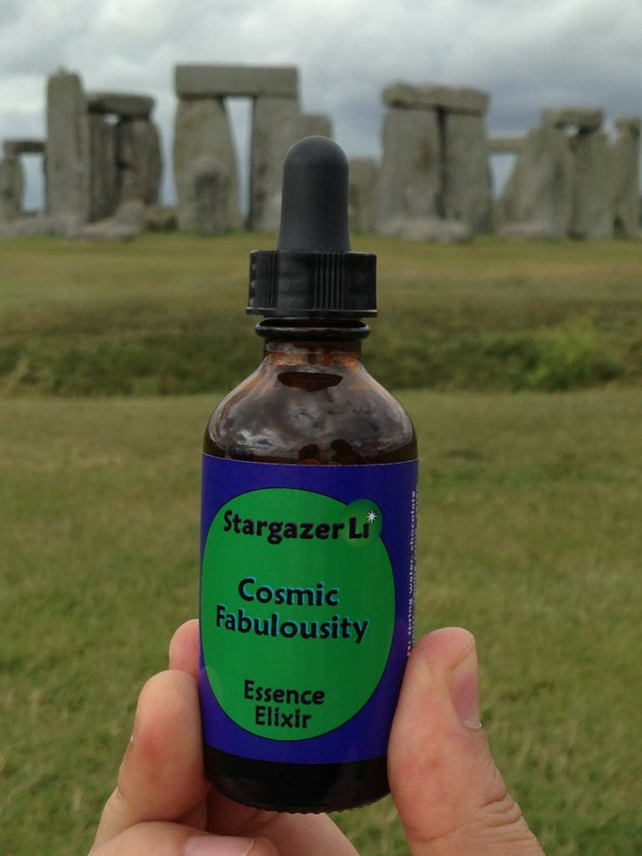 cosmic fabulousity at stonehenge