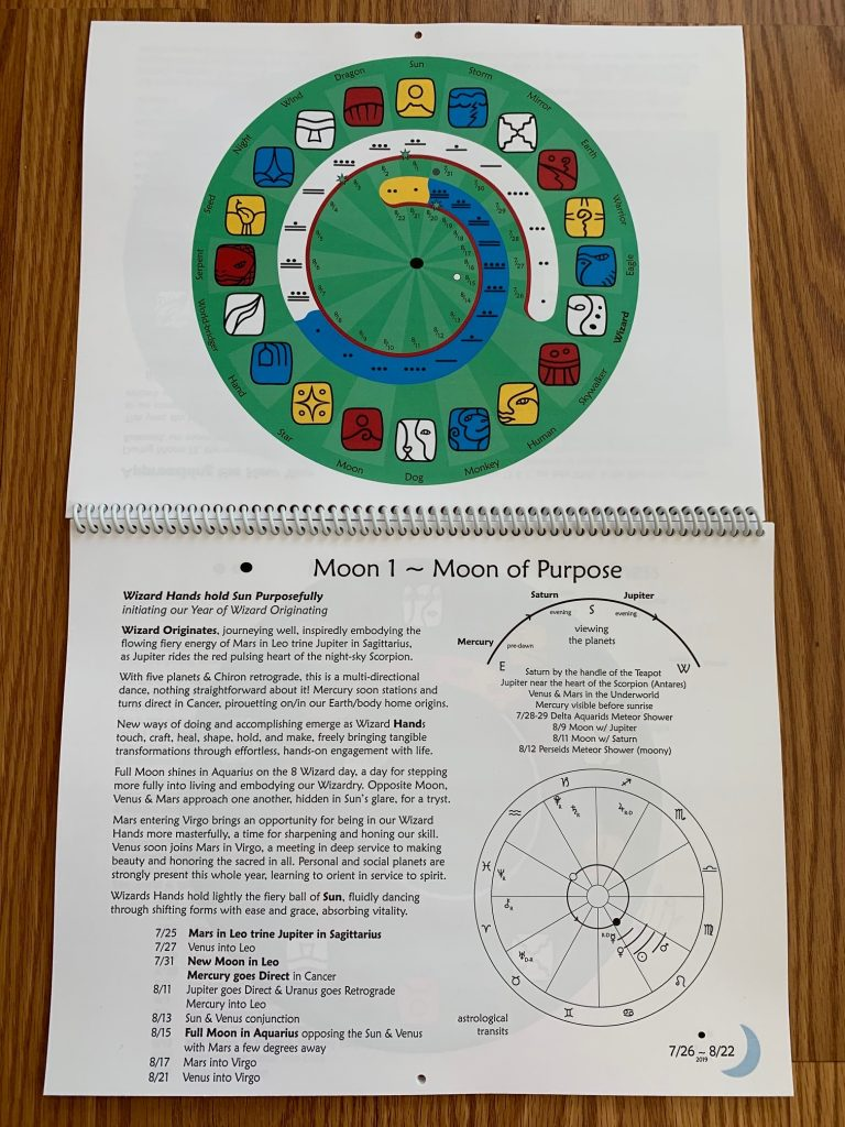Wizard Originating Year Calendar